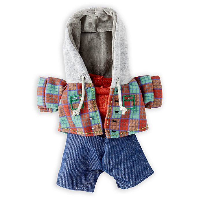 Disney Store nuiMOs Small Soft Toy Checked Jacket and Jeans Set