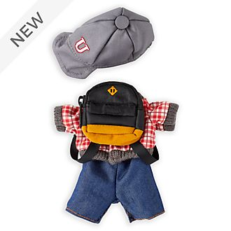 Disney Store nuiMOs Small Soft Toy Baseball Jacket and Jeans Set