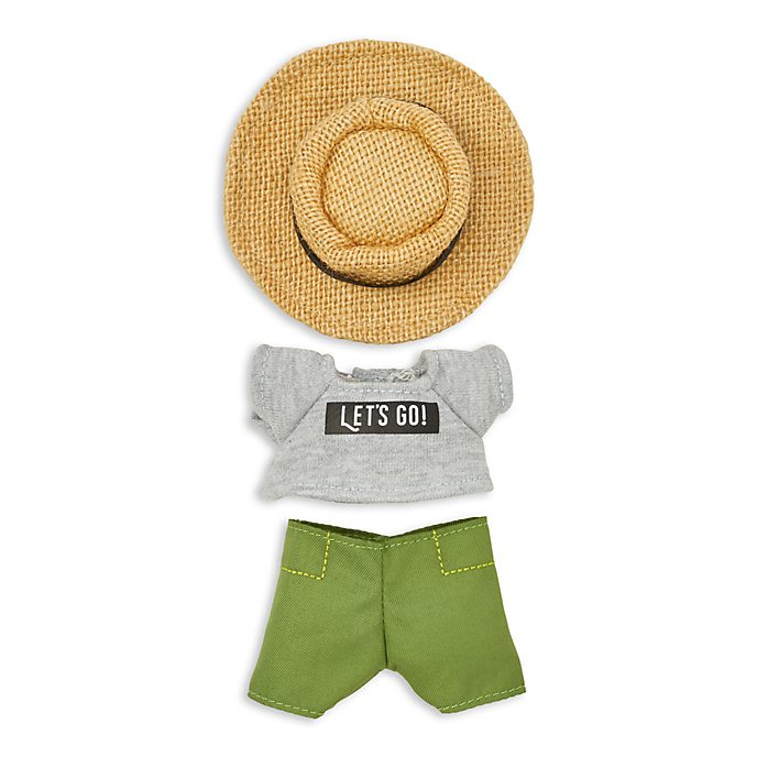 Disney Store nuiMOs Small Soft Toy T-Shirt and Sun Hat Set