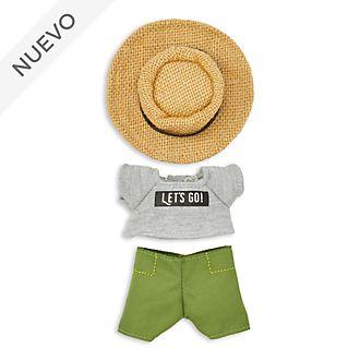 Conjunto camiseta y gorro para el sol, peluche pequeño nuiMOs, Disney Store