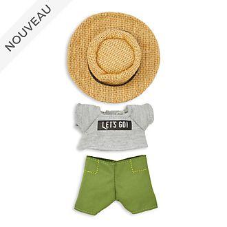 Disney Store Ensemble t-shirt et chapeau de soleil pour petite peluche nuiMOs