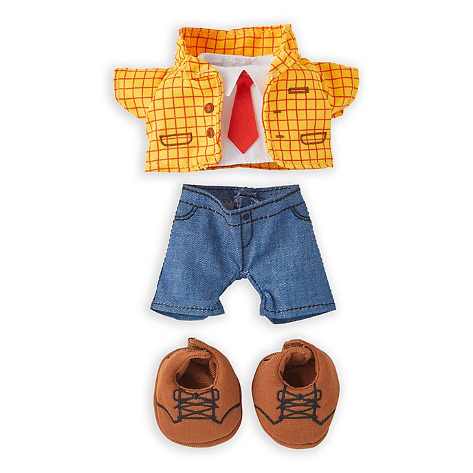 Disney Store nuiMOs Small Soft Toy Woody Outfit Set, Toy Story