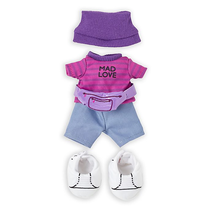 Disney Store nuiMOs Small Soft Toy Cheshire Cat Outfit Set
