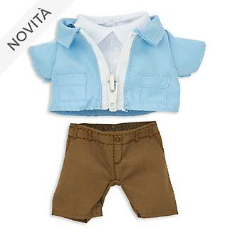 Completo giacca e pantaloni toni pastello per peluche piccoli nuiMOs Disney Store