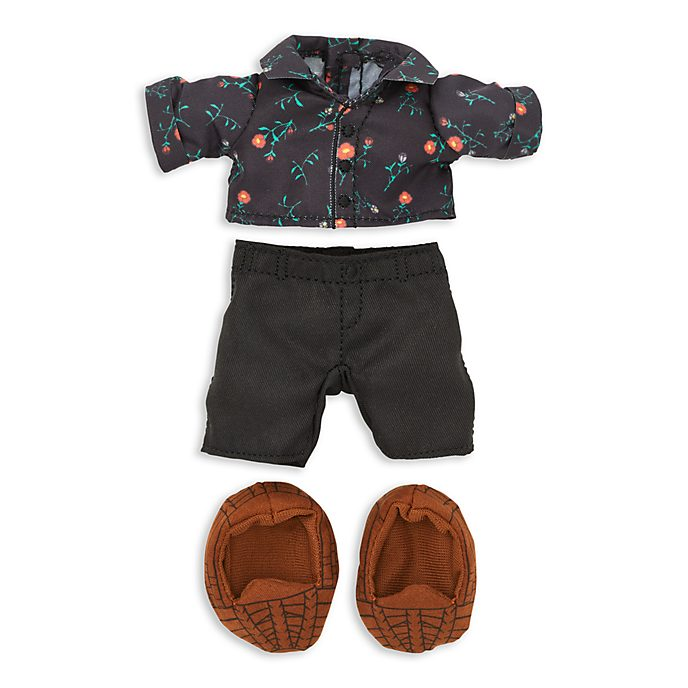 Disney Store nuiMOs Small Soft Toy Floral Shirt and Trousers Set
