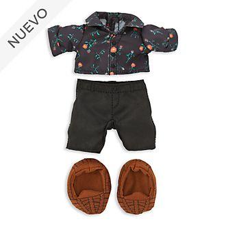 Conjunto camisa floral y pantalones, peluche pequeño nuiMOs, Disney Store