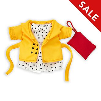 Disney Store nuiMOs Small Soft Toy Polka Dot Dress and Jacket Set