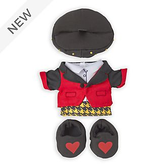 Disney Store nuiMOs Small Soft Toy Queen of Hearts Outfit Set