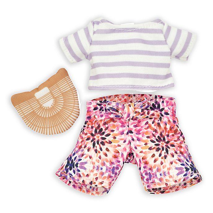 Disney Store Ensemble chemise rayée et pantalon pour petite peluche nuiMOs