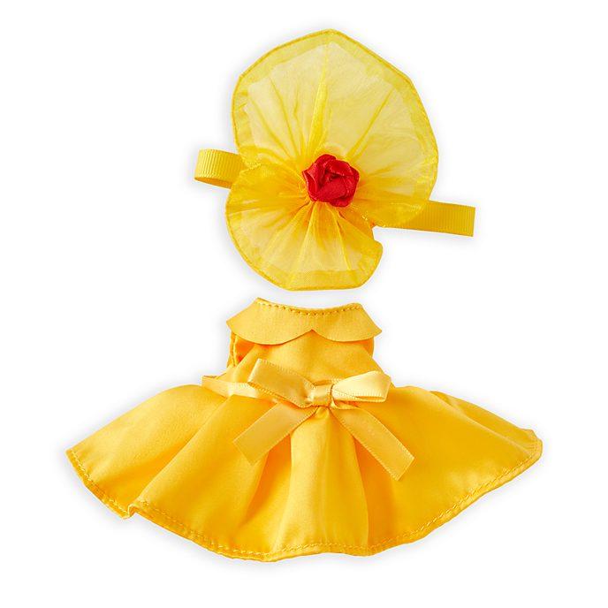 Disney Store Déguisement inspiré de Belle pour petite peluche Disney nuiMOs