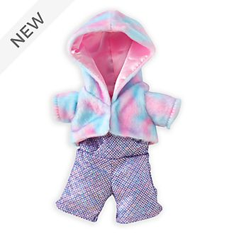 Disney Store nuiMOs Small Soft Toy Cotton Candy Coat with Disco Jumpsuit