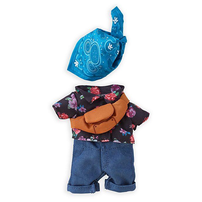 Disney Store Chemise à fleurs et bandana avec sac à bandoulière pour petite peluche Disney nuiMOs