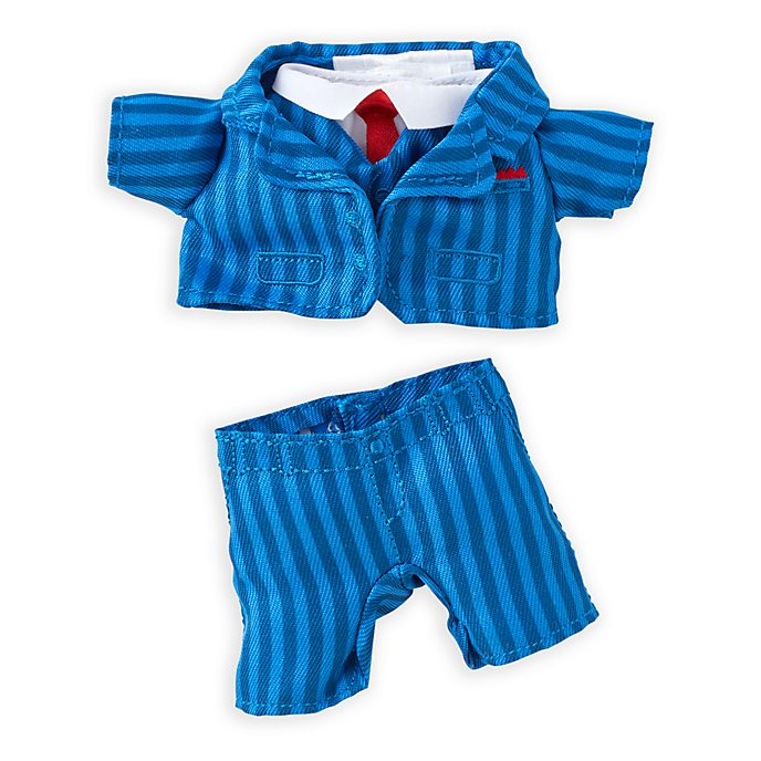 Disney Store nuiMOs Small Soft Toy Blue Pinstripe Suit