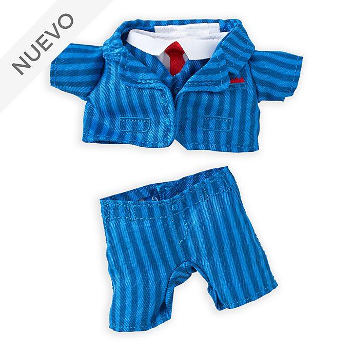 Traje azul a rayas, peluche pequeño nuiMOs, Disney Store