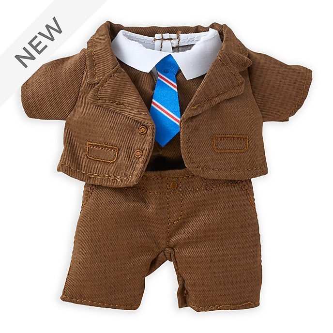 Disney Store nuiMOs Small Soft Toy Brown Tweed Suit