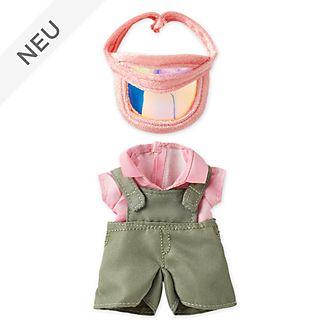 Disney Store - nuiMOs - Overall in Olivgrün mit pinkfarbenem Mützenschirm