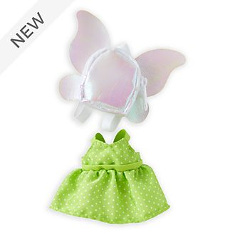 Disney Store nuiMOs Small Soft Toy Tinker Bell Inspired Outfit