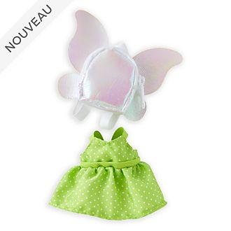 Disney Store Déguisement inspiré de Clochette pour petite peluche Disney nuiMOs