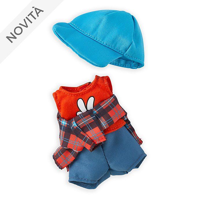 Canotta con cappello blu e camicia in flanella in stile scozzese per peluche piccoli nuiMOs Disney Store