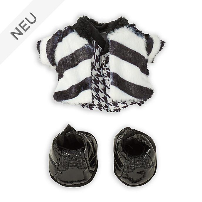 Disney Store - nuiMOs - Set aus flauschigem Mantel mit Kleid und schwarzen Stiefeln