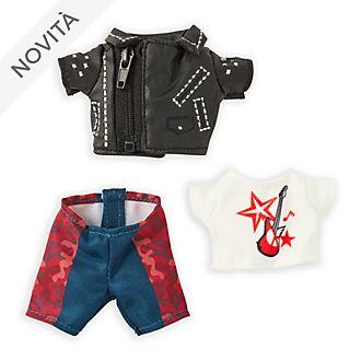 Completo giacca da motociclista con maglietta grafica e pantaloni per peluche piccoli nuiMOs Disney Store