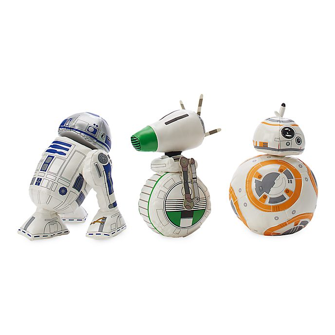 Disney Store Star Wars: The Saga Limited Release Soft Toy Set