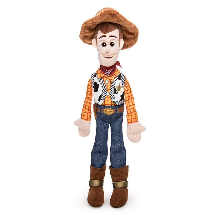 Disney Store - Toy Story 4 - Woody - Bean Bag Stofftier