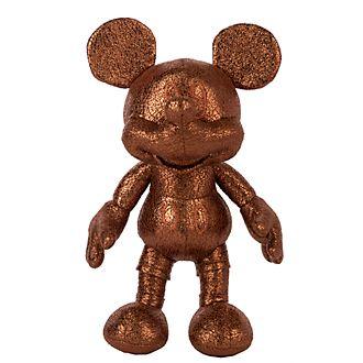 Disney Store - Micky Maus - Bronzefarbenes Bean Bag Stofftier mini