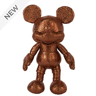 Disney Store Mickey Mouse Bronze Mini Bean Bag