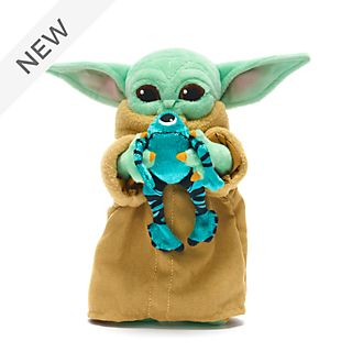 Disney Store The Child with Sorgan Frog Mini Bean Bag, Star Wars