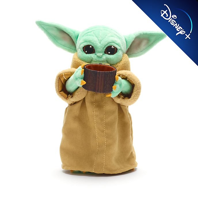 Disney Store - Star Wars - Das Kind mit Tasse - Bean Bag Stofftier