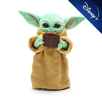 Disney Store Peluche miniature L'Enfant avec un bol, Star Wars