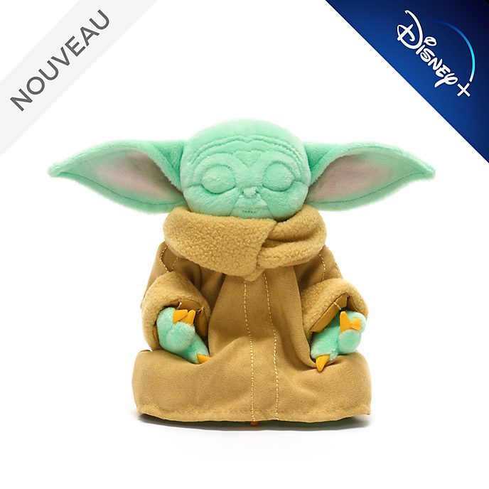 Disney Store Peluche miniature L'Enfant en méditation, Star Wars