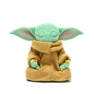 Disney Store Grogu Meditating Mini Bean Bag, Star Wars: The Mandalorian