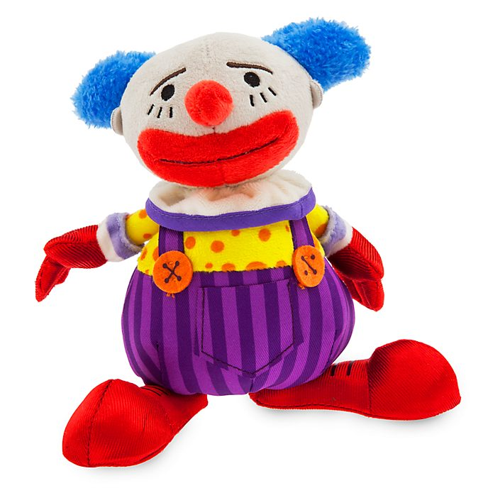 Disney Store Peluche miniature Chuckles le Clown