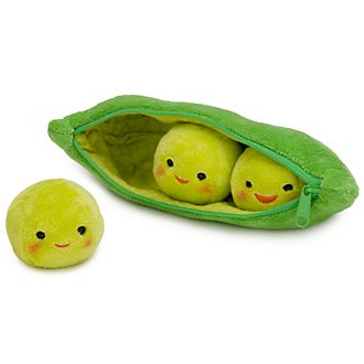 Disney Store Peas in a Pod Mini Bean Bag
