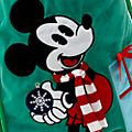 Disney Store - Holiday Cheer - Micky Maus - Weihnachtssack