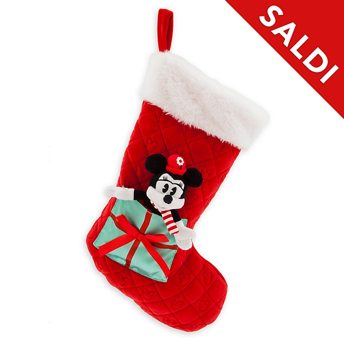 Calza Minni Holiday Cheer Disney Store