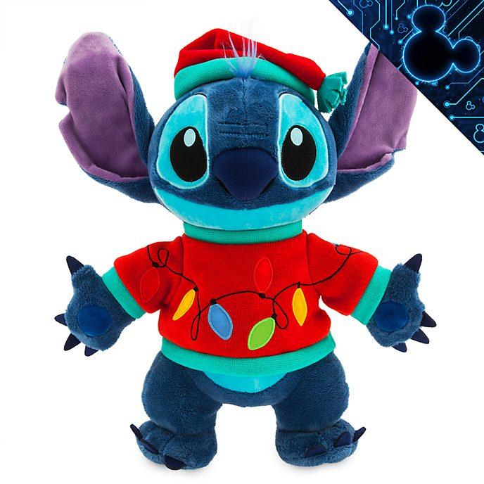 Peluche medio luminoso Stitch Holiday Cheer Disney Store