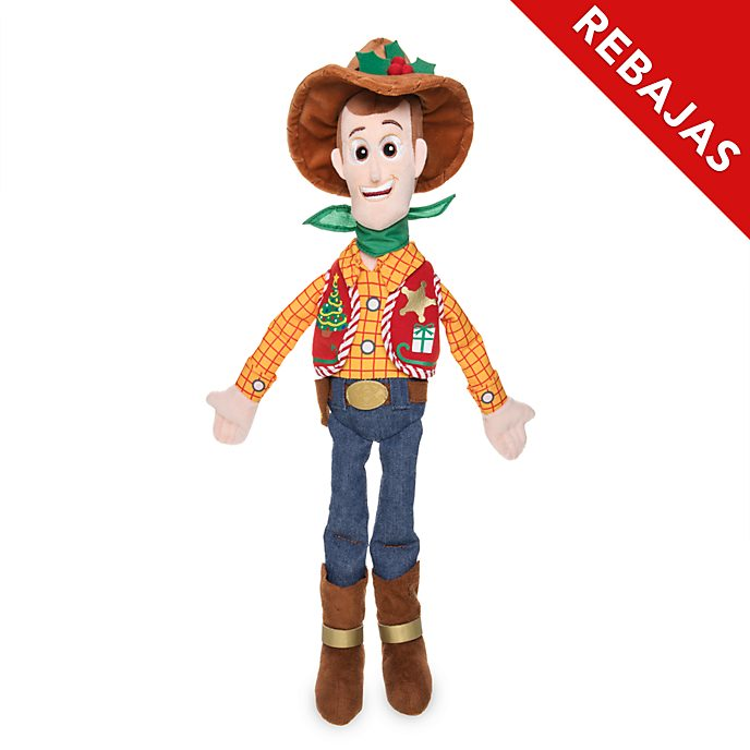 Peluche mediano Woody, Holiday Cheer, Disney Store