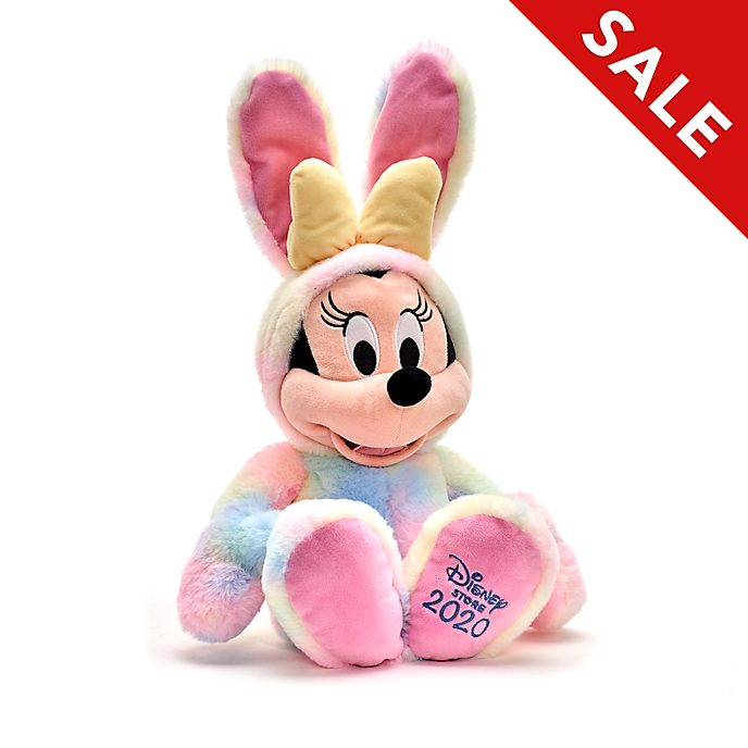Disney Store Minnie Mouse Easter Medium Soft Toy