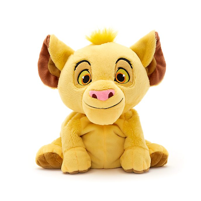 Disney Store Simba Microwavable Small Soft Toy