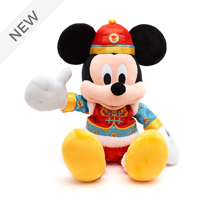 Disney Store Mickey Mouse Chinese New Year Medium Soft Toy