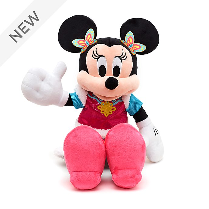 Disney Store Minnie Mouse Chinese New Year Medium Soft Toy