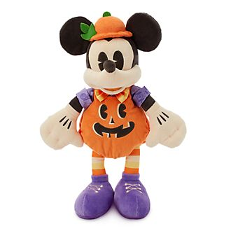 Disney Store Mickey Mouse Pumpkin Small Soft Toy
