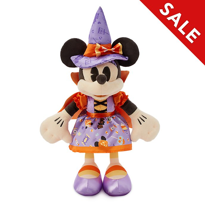 Disney Store Minnie Mouse Witch Small Soft Toy