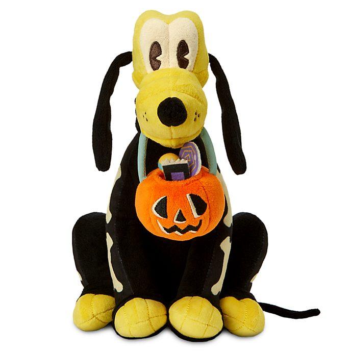 Disney Store Pluto Skeleton Small Soft Toy
