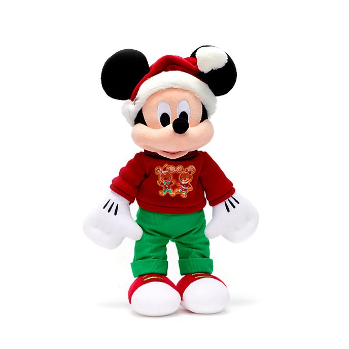 Disney Store Peluche moyenne Mickey, Holiday Cheer
