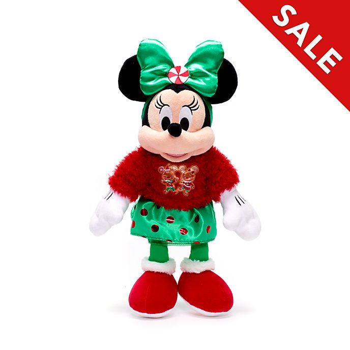 Disney Store - Holiday Cheer - Minnie Maus - Kuscheltier