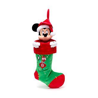 Disney Store Chaussette de Noël Mickey, Holiday Cheer